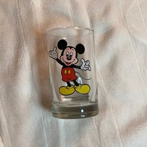 Disney Mickey Mouse shot glass drinking mini cup